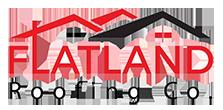 Flatland Roofing Company Logo